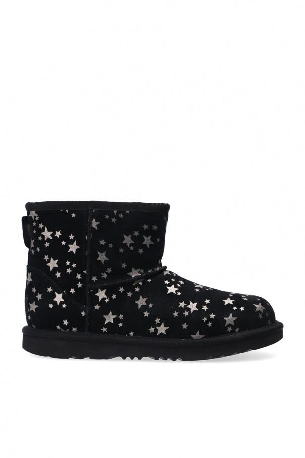 UGG Kids 'T Classic Mini II Stars' snow boots