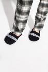 Emporio Armani Logo-embroidered slippers