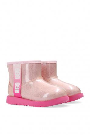 'classic clear mini ii' snow boots od UGG Kids