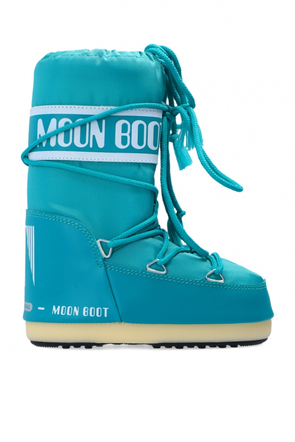 Moon Boot Kids 'Classic Nylon' snow boots