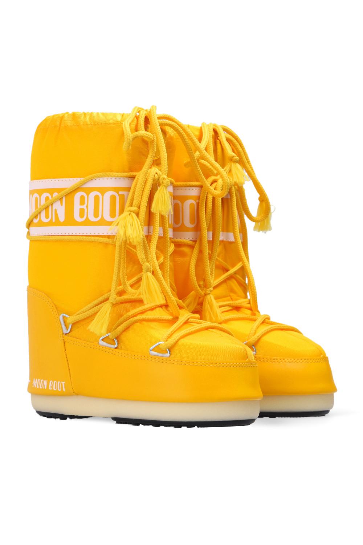 Moon Boot Kids 'Nylon' snow boots