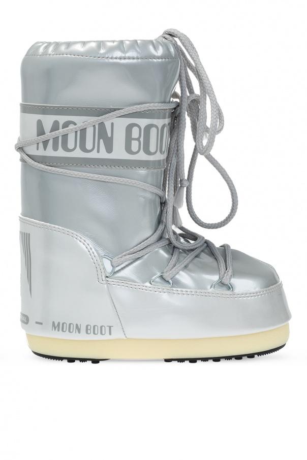 Moon Boot Kids 'Vinile Met' snow boots