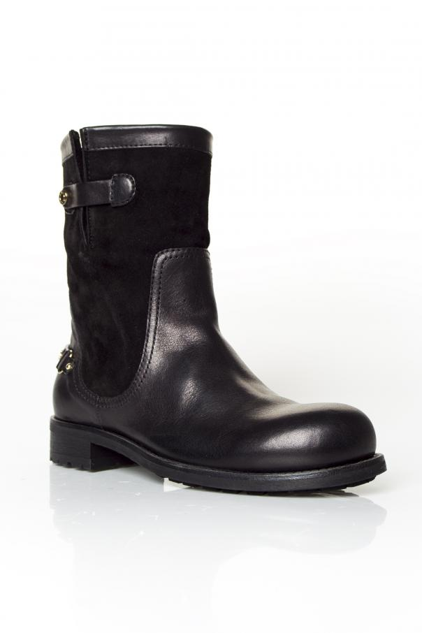 285d525cd8ea0 Dante' Leather Biker Boots Jimmy Choo - Vitkac shop online