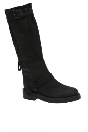 Buckle suede boots od Ann Demeulemeester