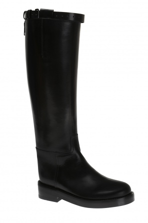 Leather calf-length boots od Ann Demeulemeester