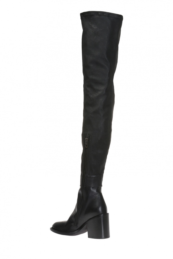 aeeb73b217c Heeled over-the-knee boots Ann Demeulemeester - Vitkac shop online