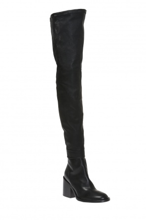 Heeled over-the-knee boots od Ann Demeulemeester