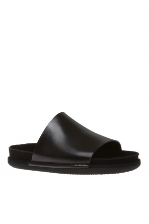Leather sliders od Ann Demeulemeester