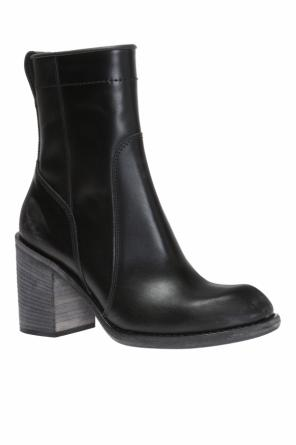 'brell' heeled ankle boots od Haider Ackermann