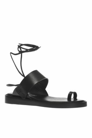 Leather sandals od Ann Demeulemeester