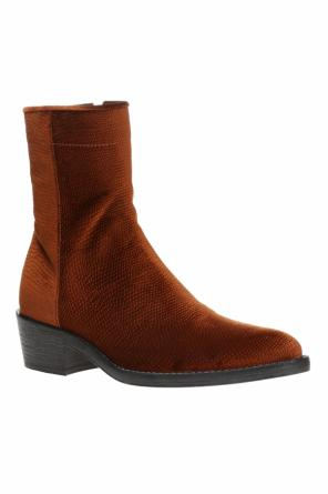Suede ankle boots od Haider Ackermann