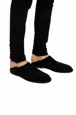 Slip-on shoes with fold-down heel od Ann Demeulemeester