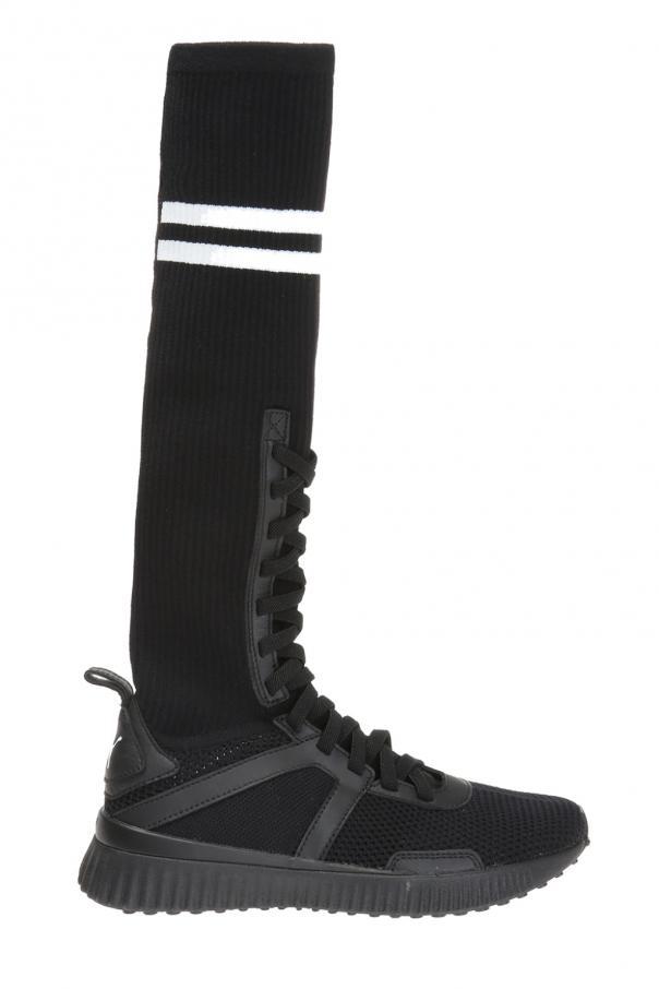 7bc281566af8 Hi Black  sneakers with knit sock Puma Fenty by Rihanna - Vitkac ...
