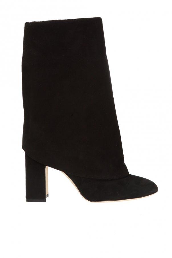 Stuart Weitzman 'Lucinda' heeled leather boots