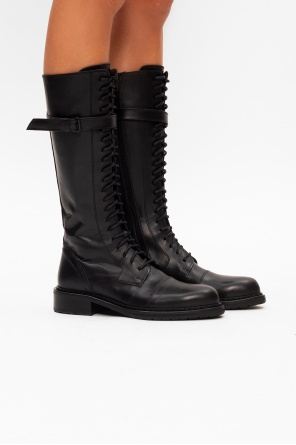 Heeled lace-up boots od Ann Demeulemeester
