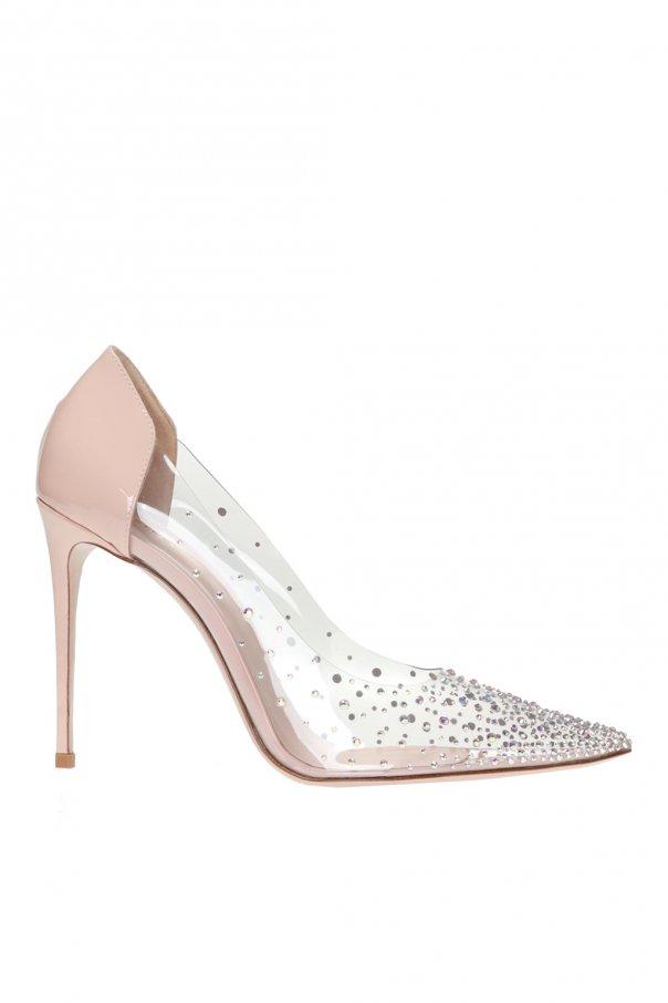 Le Silla 'Nicole' transparent stiletto pumps