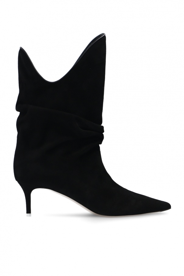 The Attico 'Tote' heeled ankle boots
