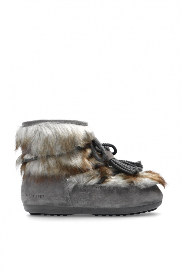 Moon Boot 'Dark Side Low Brinato' snow boots