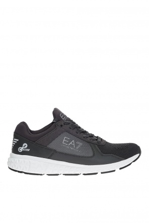 Lace-up mesh sneakers od EA7 Emporio Armani