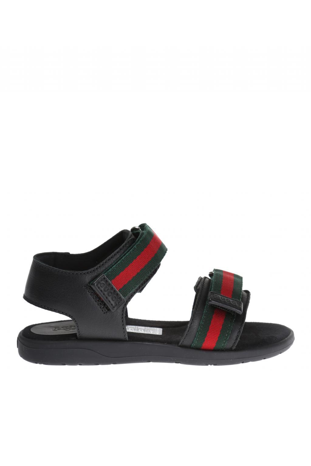 Gucci Kids Velcro Sandals