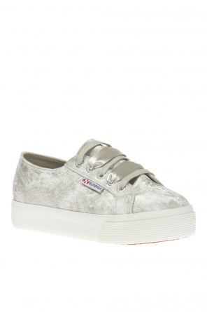 '2730 velvetshinywrinkledw' sports shoes od Superga
