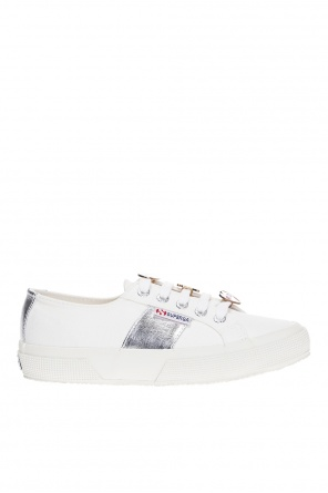 Sneakers with removable applications od Superga