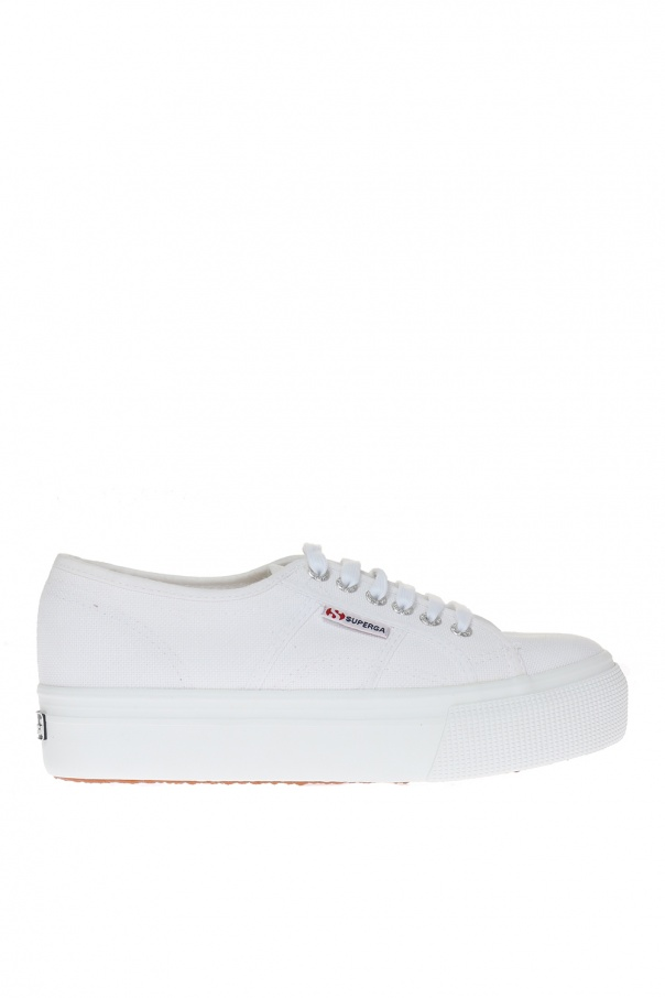 'linea' lace-up sneakers od Superga