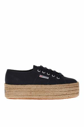 'cotropew' lace-up platform sneakers od Superga