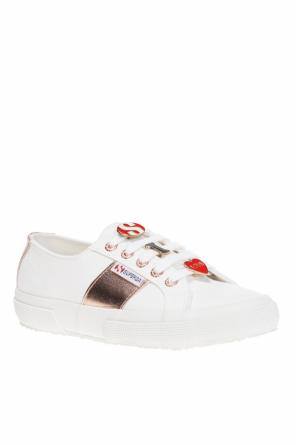 Transparent sneakers od Superga