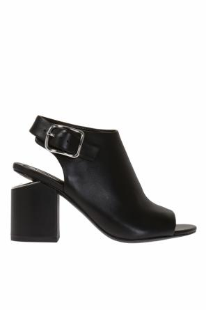 'nadia' block heel ankle boots od Alexander Wang
