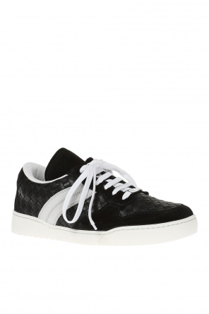 'heeze' lace-up sneakers od Bottega Veneta