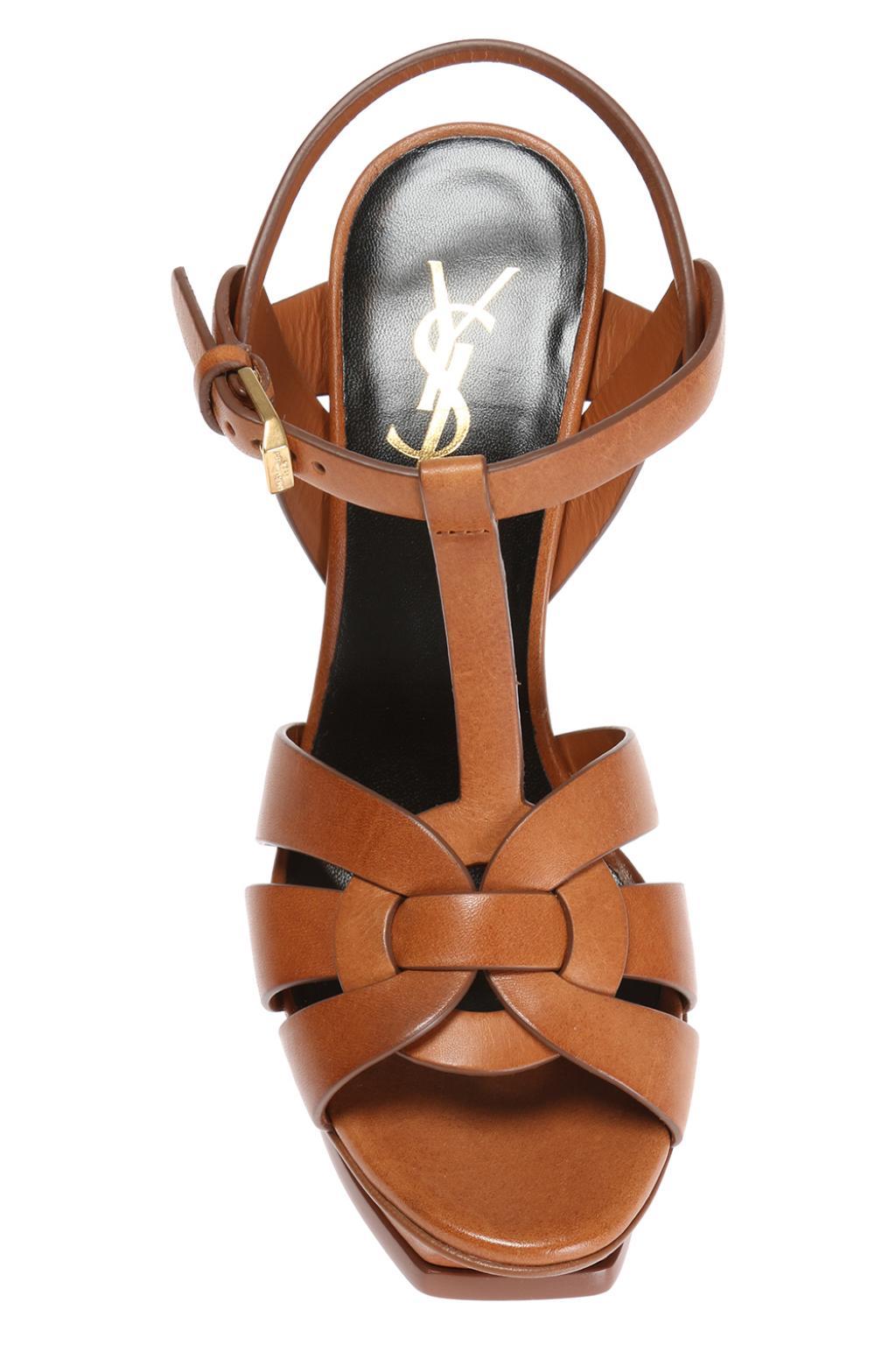Saint Laurent 'Tribute' platform sandals