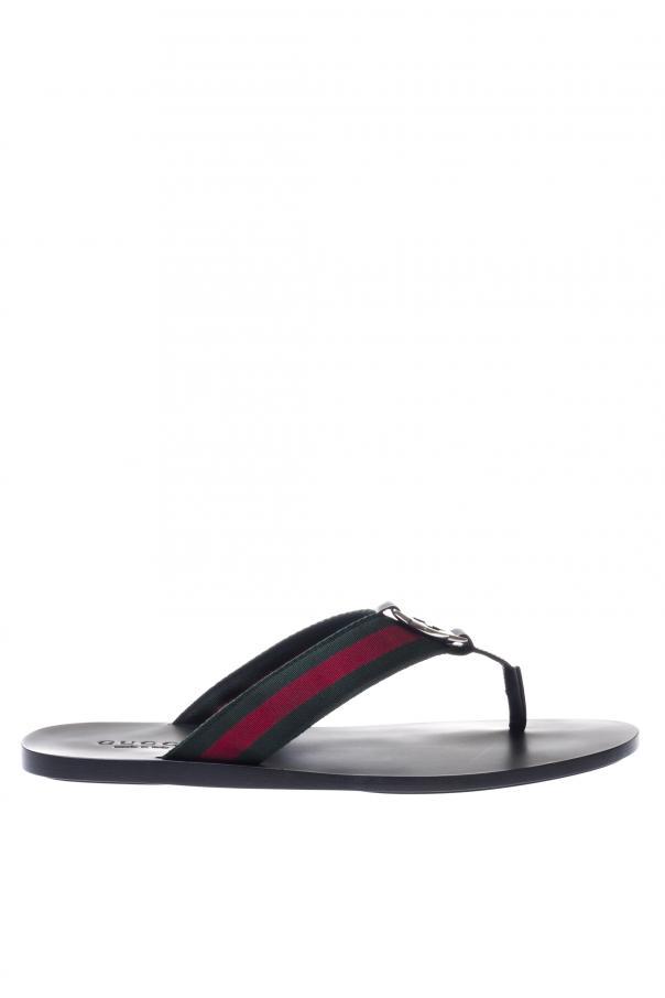 ab015b0ea80e9 Leather Flip Flops Gucci - Vitkac shop online
