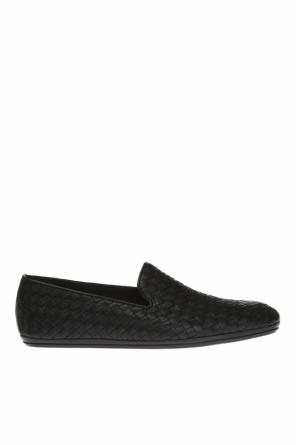 'intrecciato' pattern slip-on shoes od Bottega Veneta