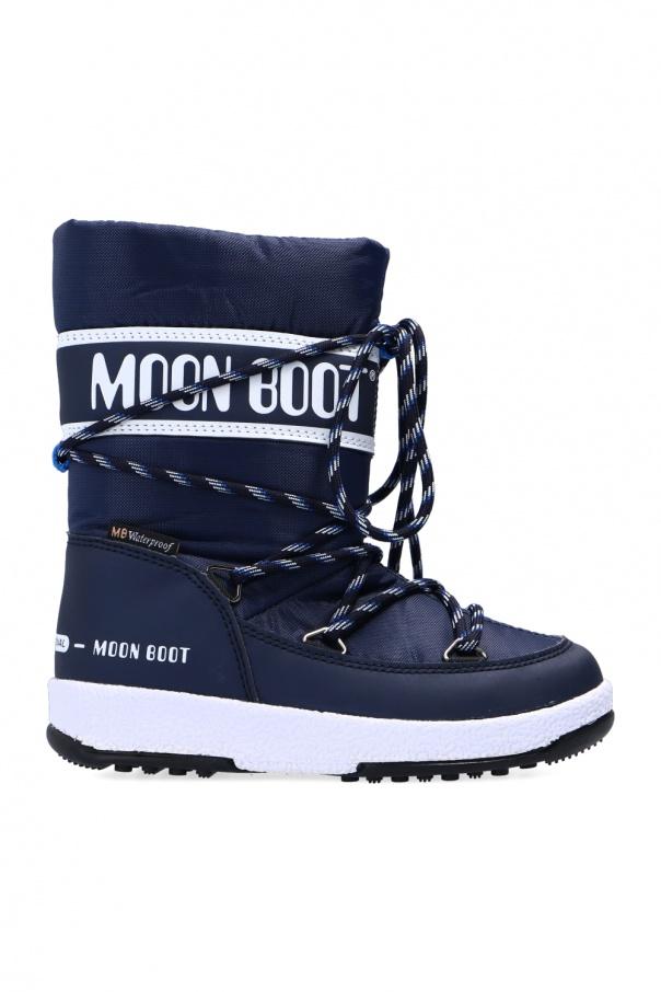 Moon Boot Kids 'JR Boy' snow boots