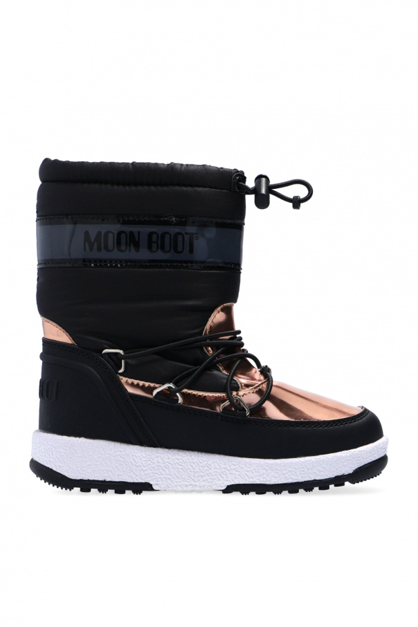 Moon Boot Kids 'JR Girl Soft WP' snow boots