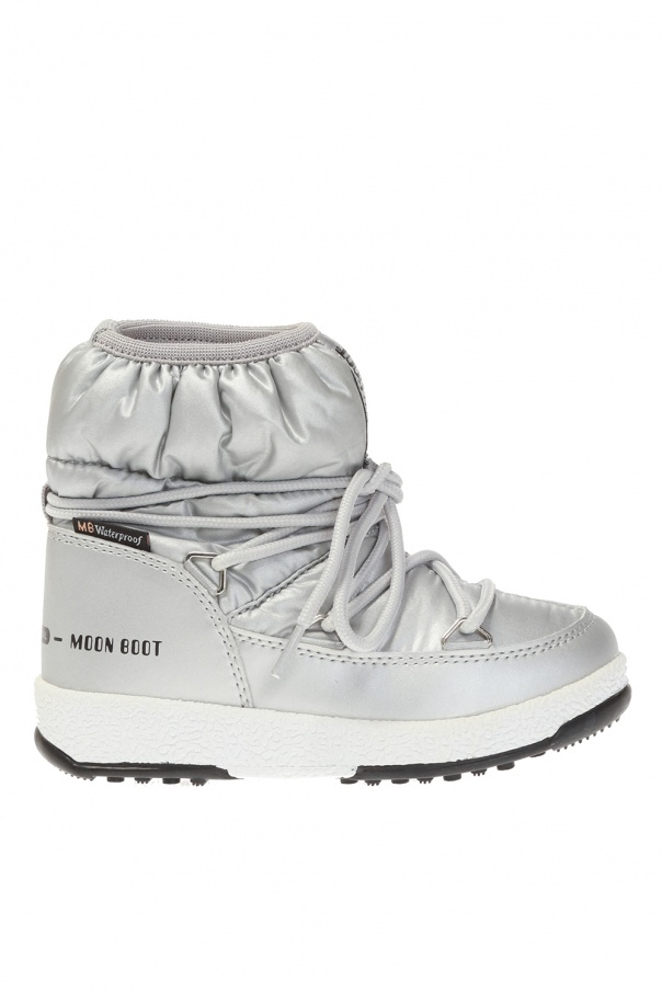 Moon Boot Kids 'Low Nylon' snow boots