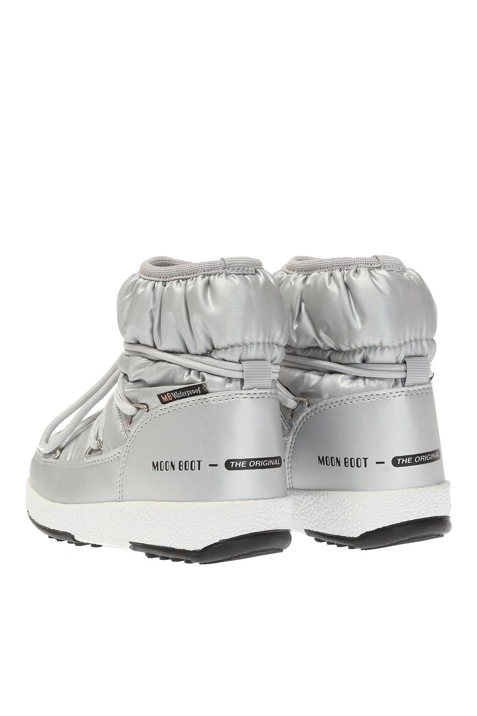 Moon Boot Kids 'Low Nylon' snow boots