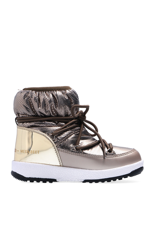 Moon Boot Kids 'Nylon Low Premium' snow boots