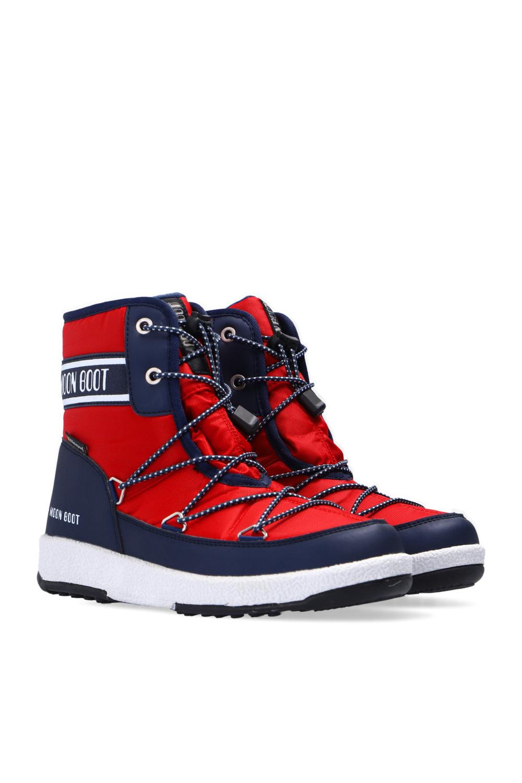 Moon Boot Kids 'JR Boy Soft WP' snow boots