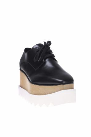 Wooden platform shoes od Stella McCartney