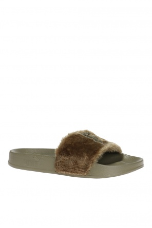 Fur front sliders od Puma Fenty by Rihanna