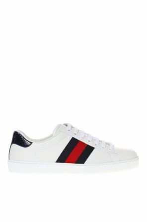 'ace' sneakers with 'web' od Gucci
