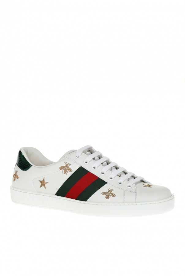 68b8901c67662 Buty sportowe 'Ace' z wyszytym wzorem Gucci - sklep internetowy Vitkac