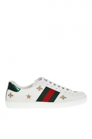 'ace' embroidered sneakers od Gucci
