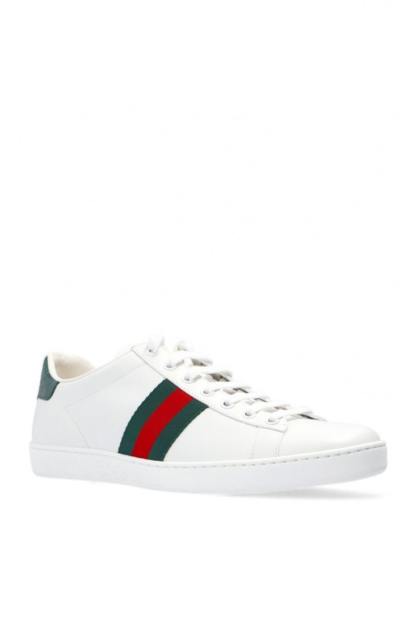 a6685c0f2e71c Buty sportowe 'ACE' z paskami 'WEB' Gucci - sklep internetowy Vitkac