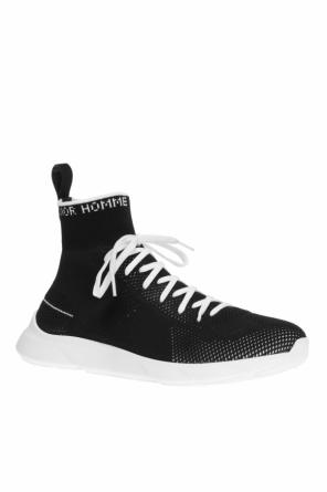 Sneakers with sock od Dior