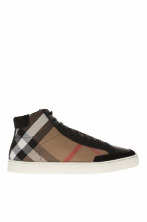 Lace-up high-top sneakers od Burberry
