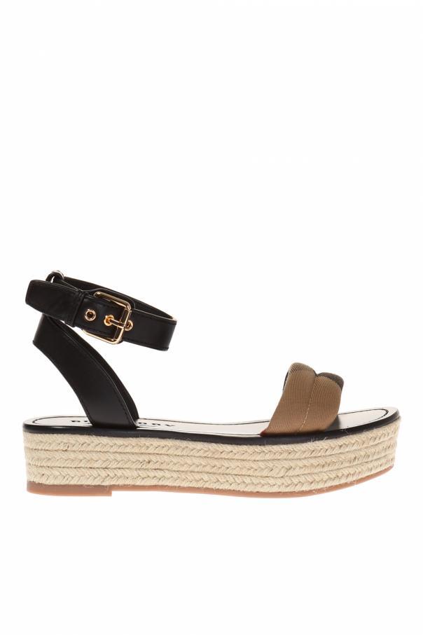 b68e7e65bc Parkeston' platform sandals Burberry - Vitkac shop online