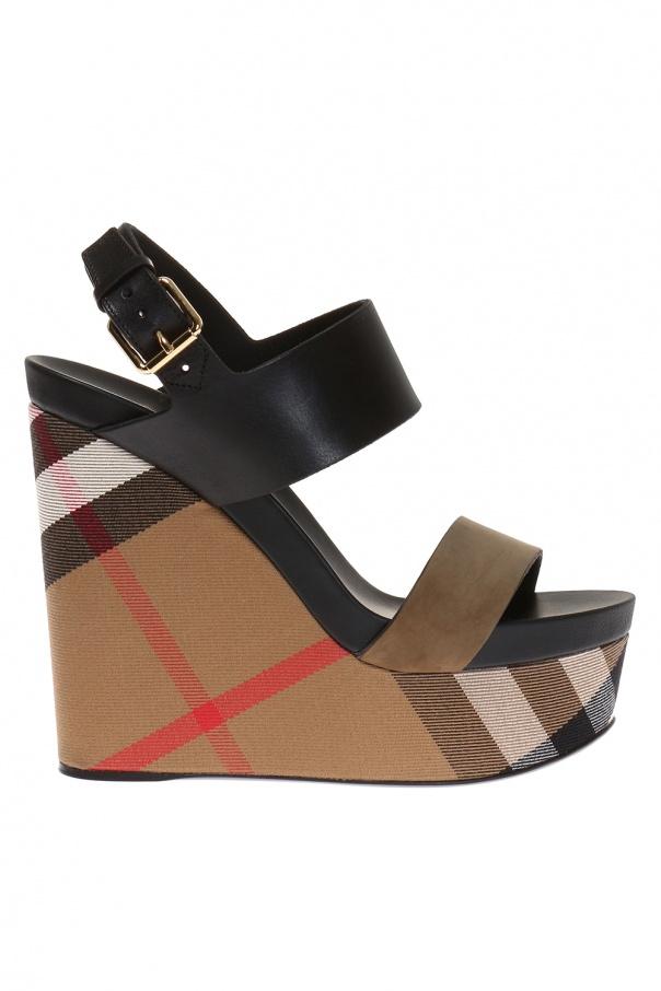 3375bfaa41 Nuneaton' wedge sandals Burberry - Vitkac shop online